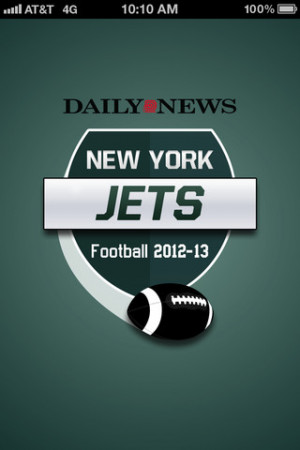 Daily News New York Jets Football 2012/2013 1.1 App for iPad, iPhone