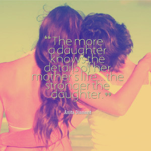 ... mothers relationships daughter quotes image that a mother loves all