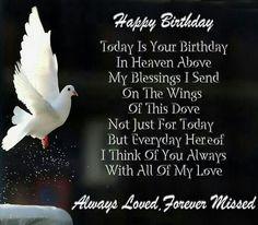 Happy Birthday in Heaven Memorials | Happy birthday in heaven , nanny ...