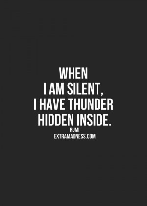 Ohhhhh so true for passive aggressive people