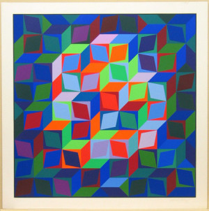 moma the collection victor vasarely. hommage to the hexagon (hommage ...