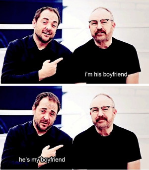 Mark Sheppard And Jim Beaver