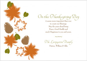 most beautiful thanksgiving cards. Below card has a meaningful quote ...