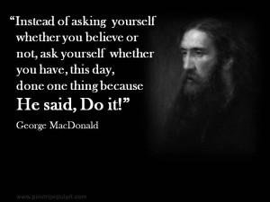 MacDonald quote