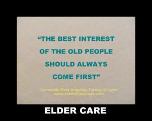 Elder #Care #quotes