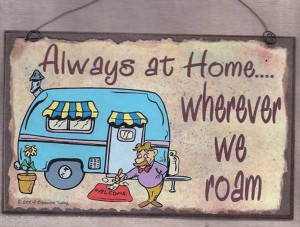 ... CAMPER RV Travel Trailer SIGN Funny 8 x 5 Recreational Vehicle Plaque
