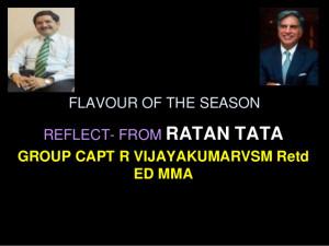 Gp capt vijayakumar Ratan Tata