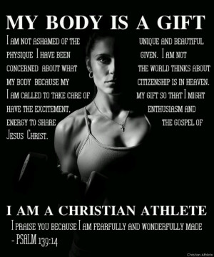 Athlete Quotes, Christian Fitness Quotes, Christian Fitness Motivation ...