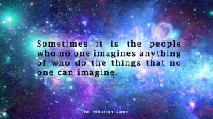The Imitation Game Quote Wallpaper by Widad-Lerato