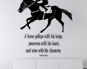 Horse Racing Quotes and Sayings