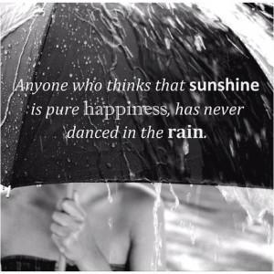 How I love the rain...