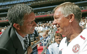 : Jose Mourinho could do his chances of replacing Sir Alex Ferguson ...