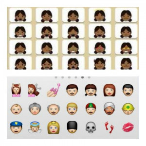 New IPhone Black Emojis