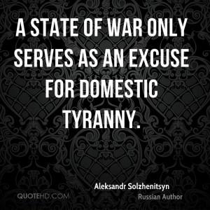 Aleksandr Solzhenitsyn War Quotes