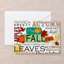 Happy Fall Y'all Greeting Cards