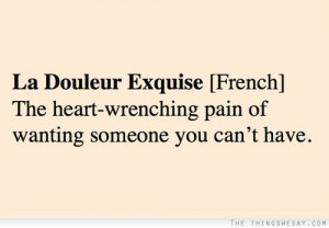 wanting someone you cant have quotesFrench Quotes, I Want You Quotes ...