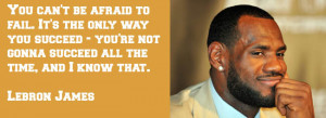 Lebron James Quotes About Success Quote wednesday lebron james