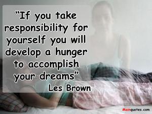 Responsibility Quotes HD Wallpaper 12