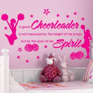 Cheer Sayings Cheer cheerleaders poms girls