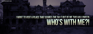 Visit A Scary Place This Halloween Facebook Cover