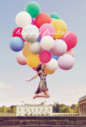 happy friday giant balloons