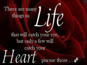 Matters of the Heart.