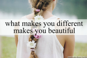 quotes that make you feel beautiful
