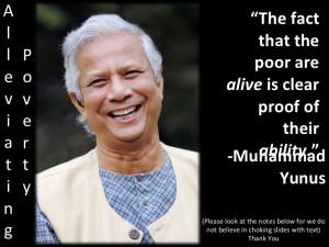 Muhammad Yunus Quotes