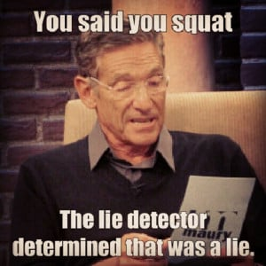 maury povich gym meme lie detector | Weight Training Images 10/16 ...