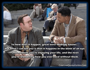 hitch speed dating quotes