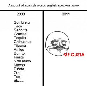 Funny Quotes About Spanish Language. QuotesGram