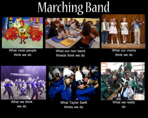 High School Marching Bands marching band!