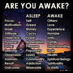 Are You Awake Or Still Sleeping?