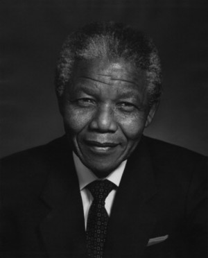 THIS PORTRAITIn 1990 Karsh was to photograph Nelson Mandela. Mandela ...