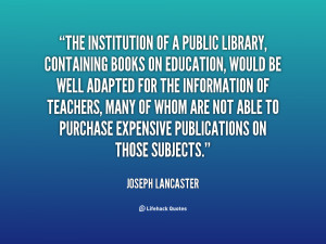 Joseph Lancaster