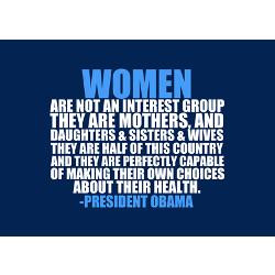 Odd quote and swag considering the pandering to women and