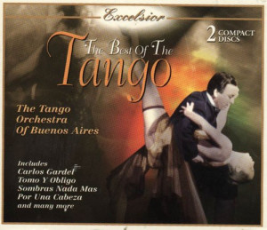 Carlos Gardel The Best Of The Tango Album Cover