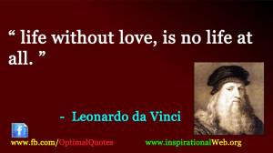 Great Quotes of Leonardo Da Vinci