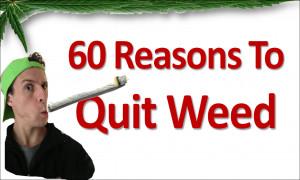 Why Quit Smoking Marijuana