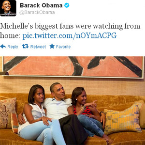 obama-watches-michelle-obama-from-home