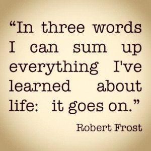 Robert Frost Quote in Quotes