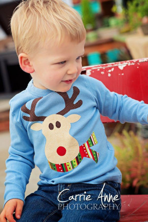 Rudolph the Red Nosed Reindeer Kids Shirt: Red Nose, Ships Kids, Kids ...