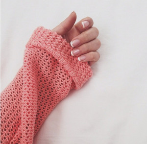 ... manicure, manicure, nail polish, nails, photography, sweater, tumblr