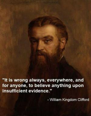 William Kingdon Clifford Quotes (Images)