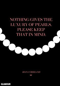 ... quotes to live by more fashionquotes magazines fashion pearls quotes