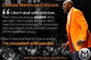 Handling Criticism Quotes