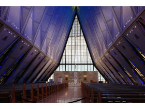 Air Force Academy Chapel Interior