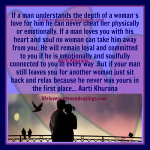 Your Man Will Never Leave You If..