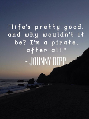 Johnny Depp Quotes on Los Angeles Scene