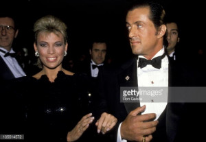 Vanna White And Sylvester Stallone during 1988 White House... News ...